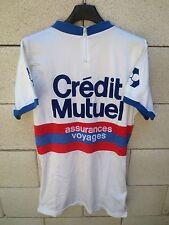 Maillot cycliste CREDIT MUTUEL assurances voyages shirt années 80 camiseta 5 XL
