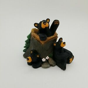 Bearfoots Black Bear Figurine Big Sky Carvers by Jeff Fleming