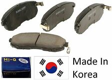 OEM Front Ceramic Brake Pad Set With Shims For KIA FORTE 2010-2013