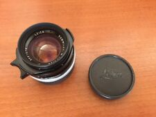 EXC++ Leica Summilux-M 35mm f/1.4 w/ Hood, 2 Filters from Japan