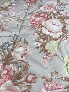 Ralph Lauren Charlotte FULL / QUEEN Comforter Sage Green Floral Bedspread