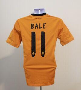 Gareth Bale #11 Real Madrid Adidas Third Football Shirt Jersey 2013-2014 (S)