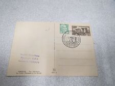 JOURNEE PHILATELIQUE 90 C verdun YVERT 445 + 5 f vert PONT DE VERDUN 1949 barday