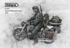 STALINGRAD MINIATURES, 1:35, S-3563  German Motorcycle Troops, 1941 (2 FIGURES)
