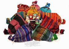 Worry Dolls Large 1 Set Of 6 Dolls Colourful Bag Guatemala FAIR TRADE GIFTS