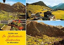 Gruesse aus St Gallenkirch Garfreschen im Montafon Gesamtansicht