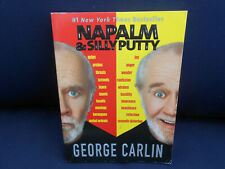 Napalm & Silly Putty by George Carlin (2002, softcover)