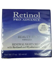 Beauty Spa Retinol Pro-Advance Renewal Night Cream Retinol Hyaluronic Acid 1.7