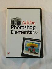 Adobe Photoshop Elements 4.0 for Macintosh, Mac OSX 10.3 or 10.4, PowerPC