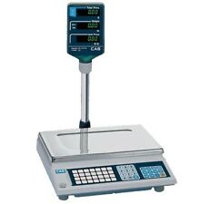 60 lb x 0.02 lb PRICE COMPUTING SCALE - NTEP- DELI, COFFEE, CANDY, BAKERY, CAS