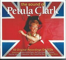 Petula Clark - The Sound Of - Best Of / Greatest Hits 2CD NEW/SEALED