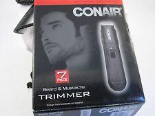Conair  2 Blade Beard, Mustache Trimmer BATTERY OPERATED NIB # 38