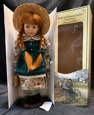"""Anne of Green Gables Limited Edition Porcelain Doll """"Kindred Spirits"""" 13"""""""