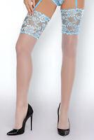 GATTA Kelly Luxury Super Fine Sheer Decorative Stockings