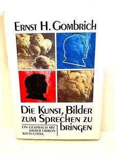 Ernst H. Gombrich, Die Kunst Bilder zum Sprechen zu bringen, Rarität, Klett-Cott