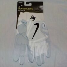 Nike HUARACHE ELITE Baseball Gloves WHITE BLACK PGB660 102 Adult Men Size LARGE