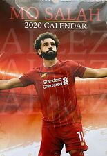 MO Salah (liverpool and Egypt) 2020 A3 Calendar