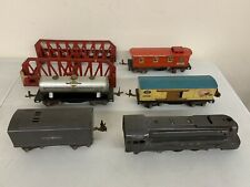 Antique Lionel O27 Train Set 1668E Locomotive Lot 1682 1679 1680 & Boxes