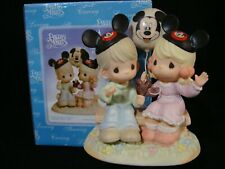 Precious Moments-Disney Showcase Theme Park Le-Mickey/Minnie Mouse Hats/Balloon