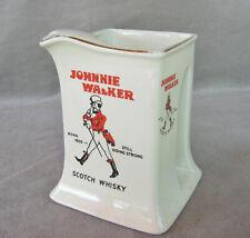 ancien pichet whisky Johnnie Walker bistrot bar