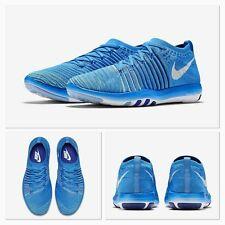 NIB WOMAN'S NIKE FREE TRANSFORM FLYKNIT TRAINING RUNNING SHOES 833410 401 BLUE