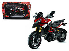 DUCATI MULTISTRADA 1200 S PIKES PEAK BIKE 1/12 MOTORCYCLE MODEL BY NEW RAY 57533