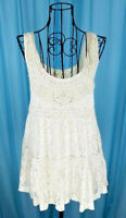 Urban Outfitters Staring At Stars Cream Lace Lined Tank  Sz S  New Without Tags