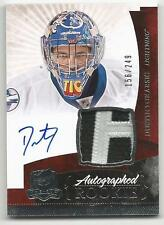 10-11 Dustin Tokarski The Cup Auto Rookie Card RC #147 Jersey Patch 156/249