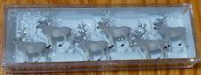 Preiser HO #20394   Reindeer pkg(6) Plastic Figures ( 1:87 Scale )