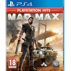 Mad Max PS4 PLAYSTATION New and Sealed