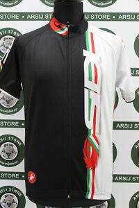 maglia ciclismo SIDI CASTELLI TG L H137 bike shirt maillot camiseta trikot