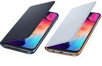 Original Samsung Galaxy A50 Flip Wallet Case Cover Schutzhülle Tasche Hülle