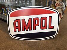 Ampol Repro Large Sign Vintage Logo