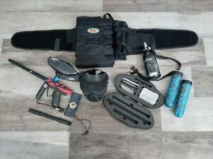 Smart Parts Ion Marker Gun Paintball Marker And Accessories Lot