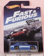 NEW Hot Wheels 2017 Fast and Furious '70 Ford Escort RS1600 1:64 #6/8