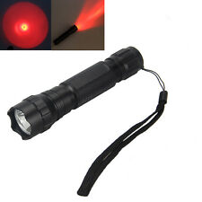 2500LM CREE T6 LED Infrared IR LED Night Vision Rot Licht Taschenlampen Torch