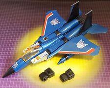 Vintage Hasbro Transformers G1 Decepticon Thundercracker Seeker Jet