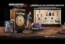Uncharted 4 - A Thiefs Fin - Libertalia Collectors Edition PS4 NIP