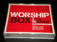 Worship Box - 3 CD's Album Boxset - 50 Great Uncontainable Songs - 2011 Kingsway