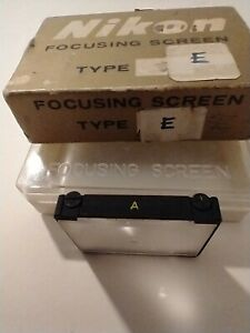 """Nikon F/F2 Focusing Screen Type """"A"""" used, but nice condition."""