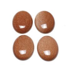 Collane e pendagli di bigiotteria ovale marrone in pietra
