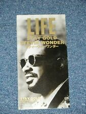"""STEVIE WONDER Japan Only 1994 NM Tall 3"""" CD Single STAY GOLD"""