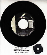 "TONY TONI TONE  Anniversary 7"" 45 rpm record NEW RARE! + juke box title strip"