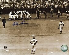 BOBBY  THOMSON   NEW YORK  GIANTS  DECEASED   SIGNED AUTOGRAPHED  8X10  D