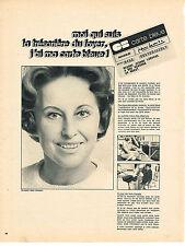 PUBLICITE  1968   CARTE BLEUE