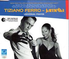 MAXI CD 3T TIZIANO FERRO ET JAMELIA UNIVERSAL PRAYER DE 2004 TBE