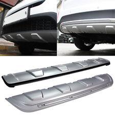Front Bumper & Rear Bumper Guard Skid Plate Diffuser For KIA 2013 2014 Sorento R