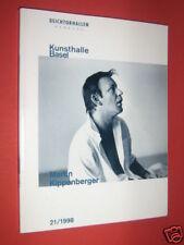 Martin Kippenberger Exposition Kunsthalle Basel 1998