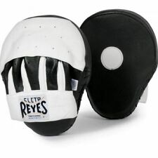 Cleto Reyes Curved Punch Mitts - Black/White