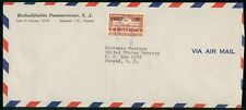 Mayfairstamps Panama 1950s Airmail cover wwe12637